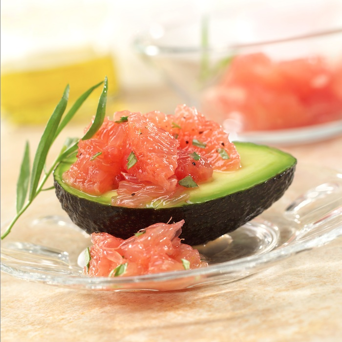 Rio Star Grapefruit and Avocado Salad