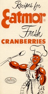 image for cranberry sauce recipes, titled Eatmor Cranberries on it