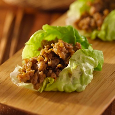 Chef LaLa's Chicken Lettuce Wraps