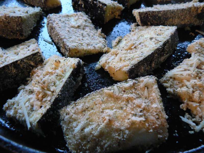 Kid-Friendly Baked Eggplant Fries