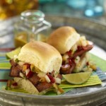 Vidalia onion sliders