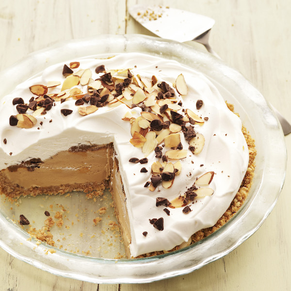 Caramel Macchiato Ice Cream Pie