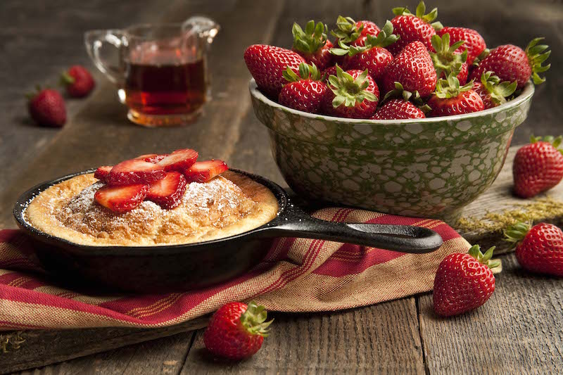 Rock Your Breakdast with this Strawberry Souffle Pancake