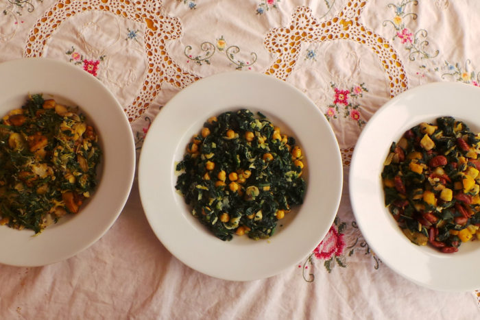 3 beans amd greens recipes for winter