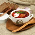 borscht an Eastern European soup