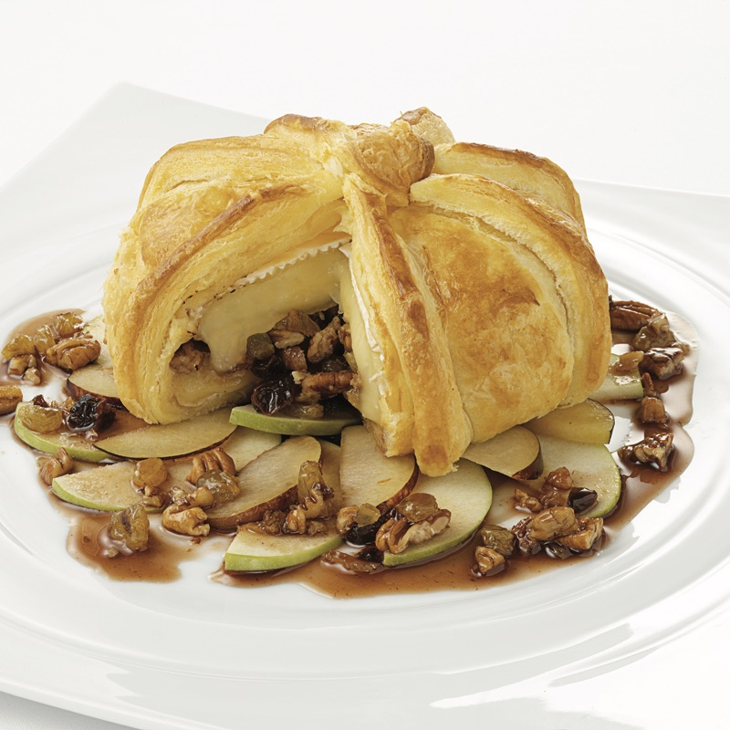 Baked Brie with California Raisins