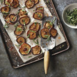 Marinated Roasted Portobello Mushrooms with Olive Oil Agrodolce