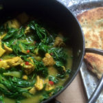Luscious Lemon Chicken and Spinach Curry.
