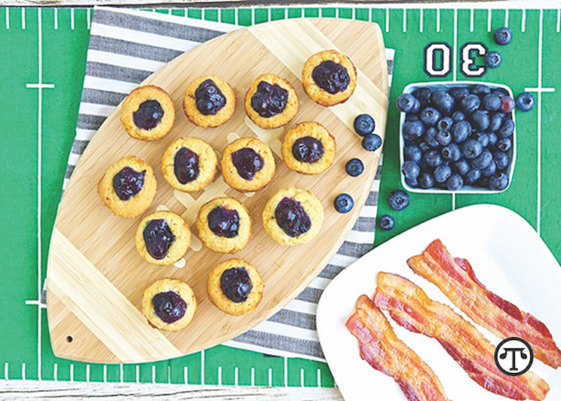 boozy blueberry bites