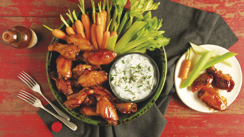 wings for game day